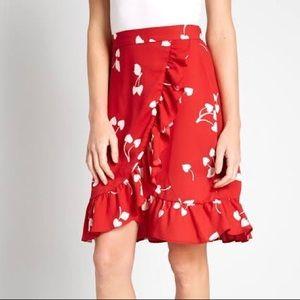 ModCloth It's A Wrap Skirt.